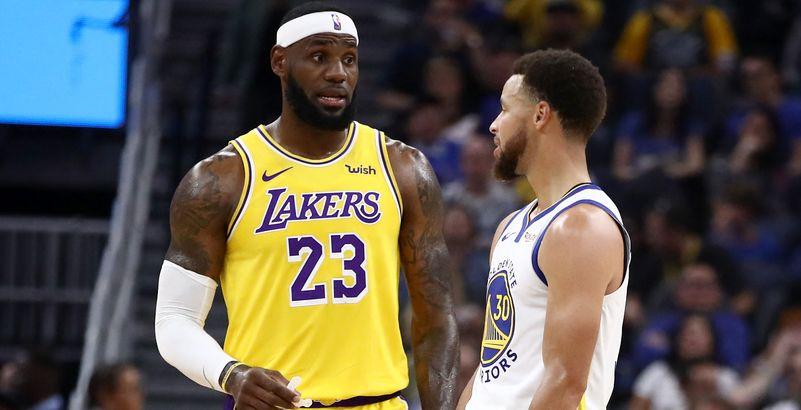 LeBron James voudrait faire venir Stephen Curry aux Lakers