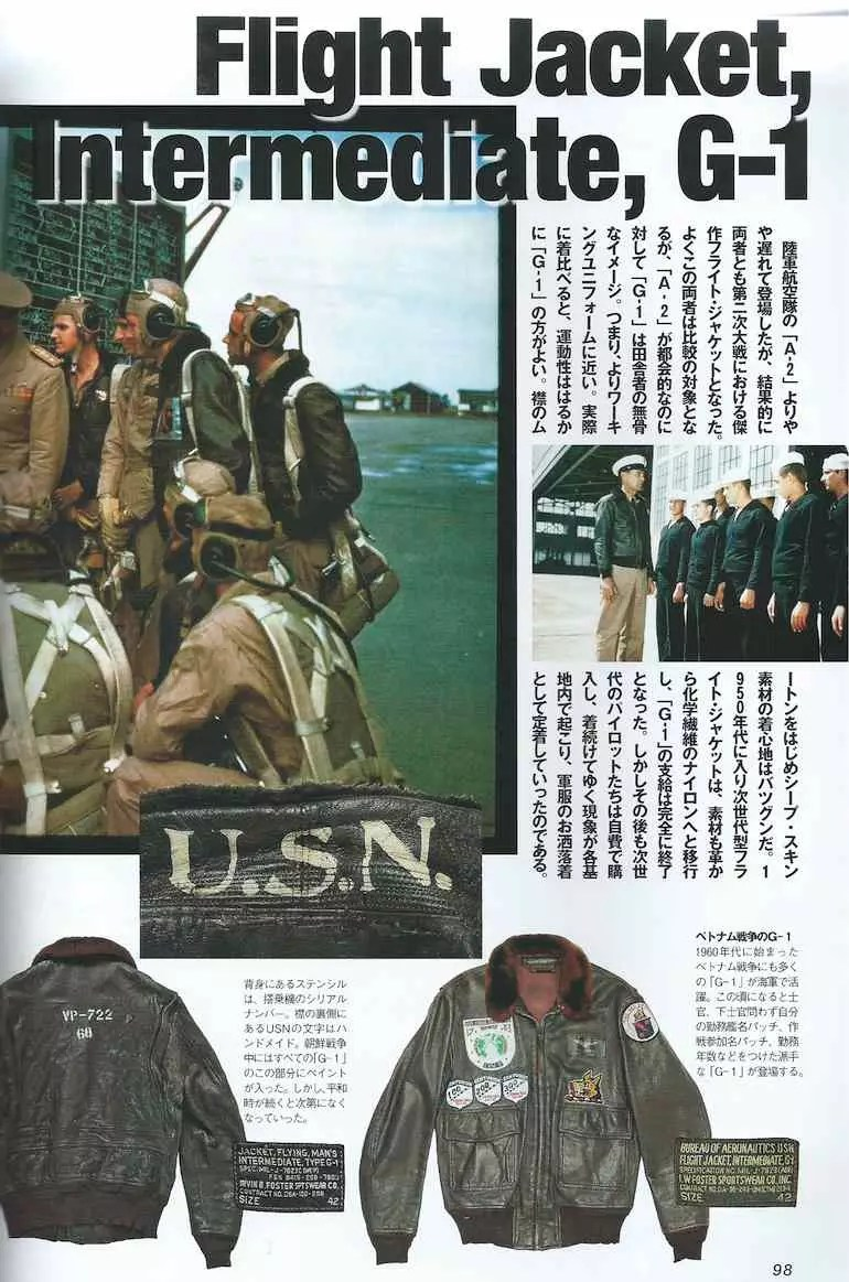 US Navy G-1 flight jackets inside Mono's Workwear 3
