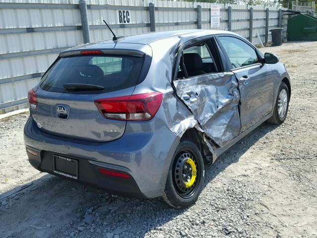 Salvage Car Kia Rio 2018 Gray For Sale In Miami Fl Online