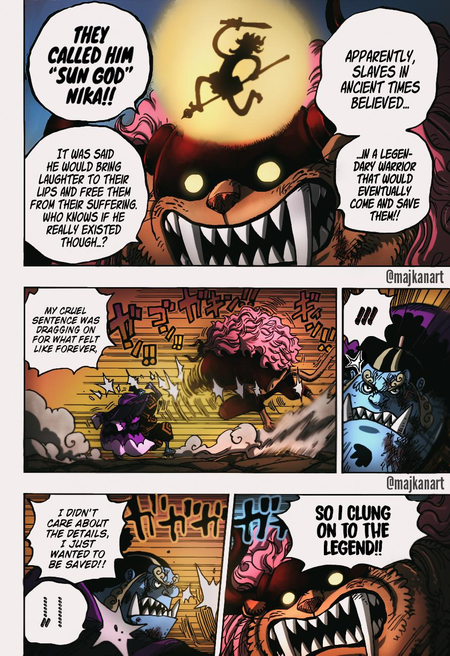 One Piece Chapter 1018 Page 19