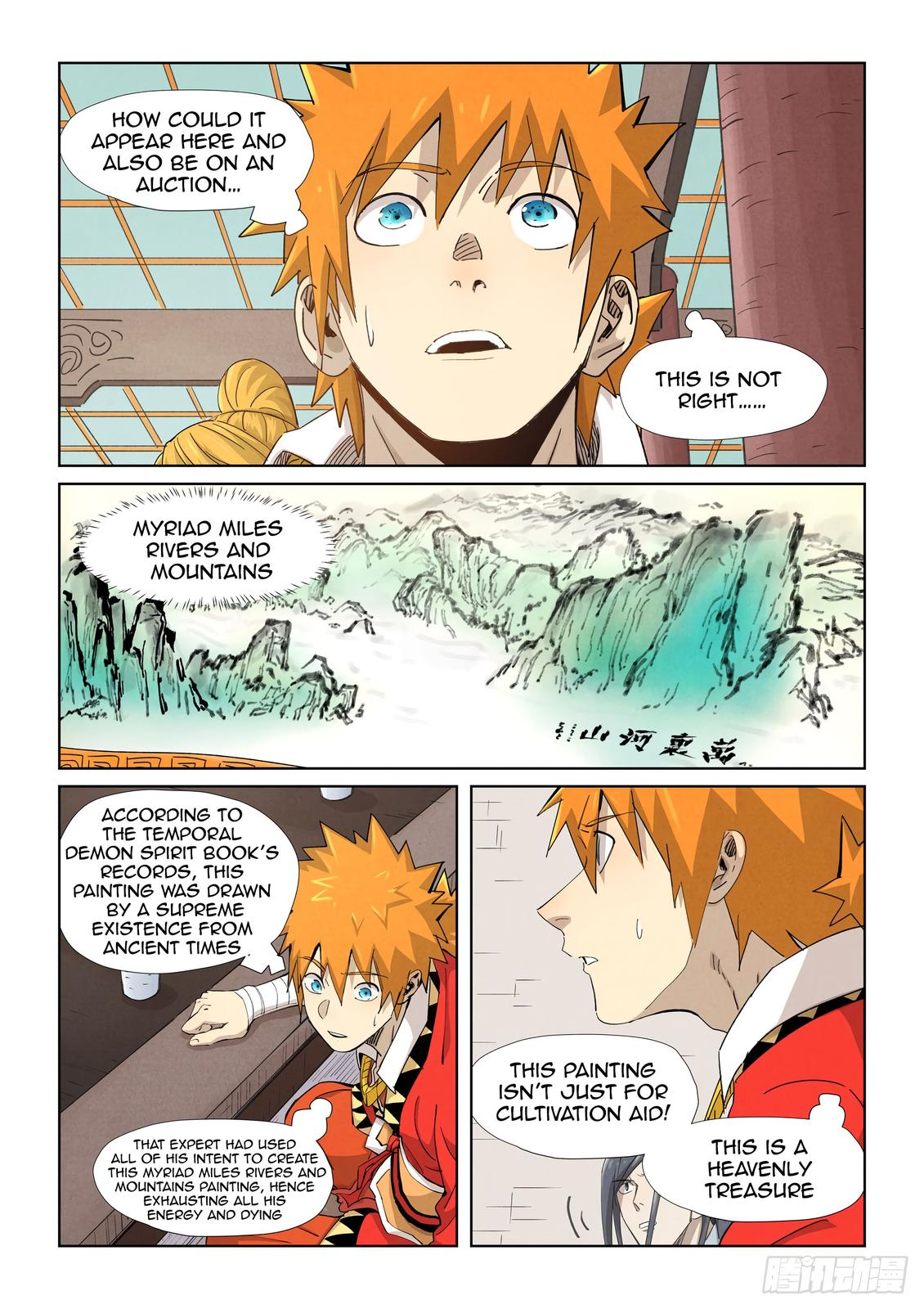 Tales of Demons and Gods Chapter 338.5 Page 3