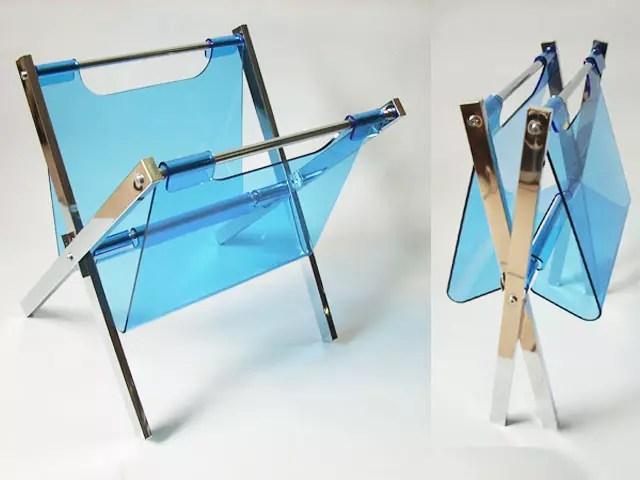 blue acrylic magazine rack manufacturer made in taiwan top jingle