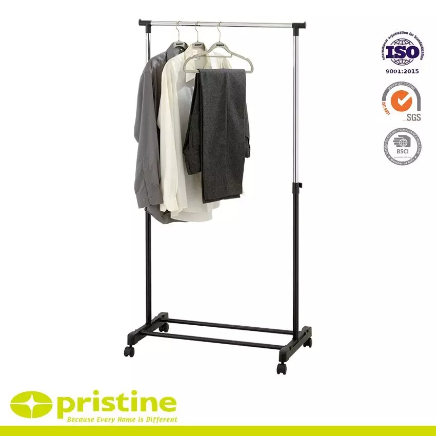 single pole clothes rail household
