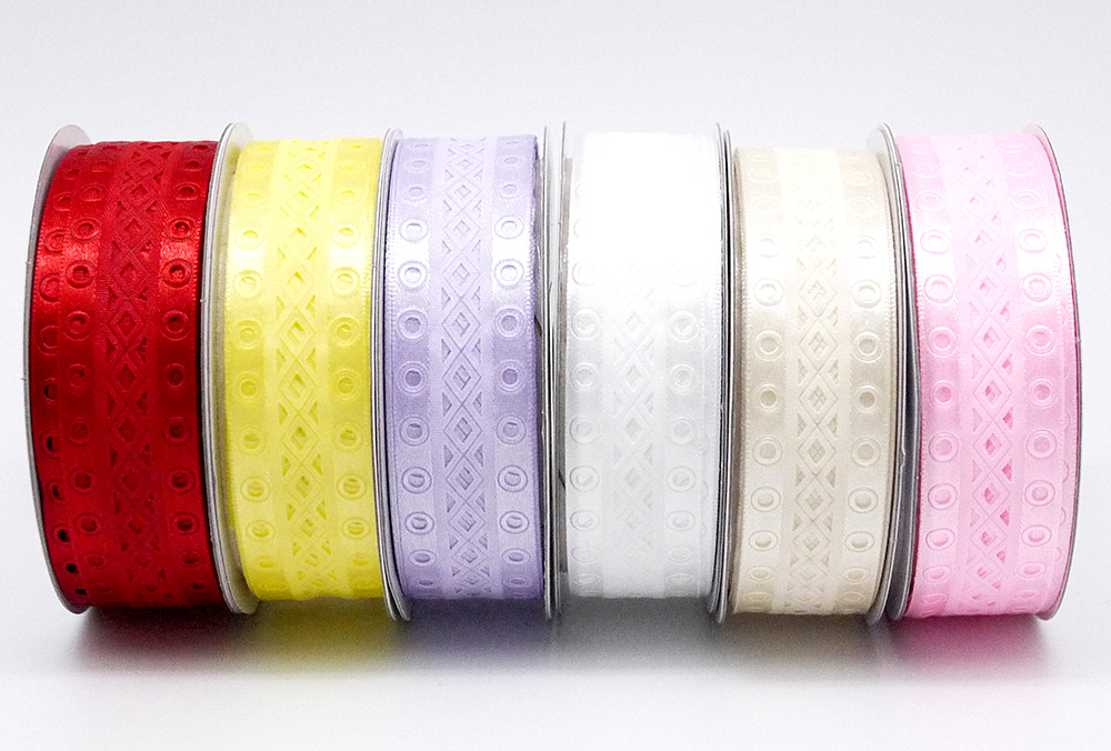 Geometric Die Cut Ribbon Bulk Ribbon Supply KING YOUNG