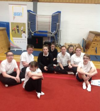 Y8 Gateshead athletics group