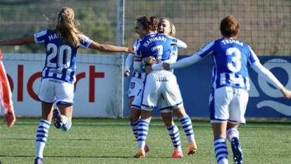 Portada Real Sociedad Femenino - Real Sociedad de Fútbol S.A.D.