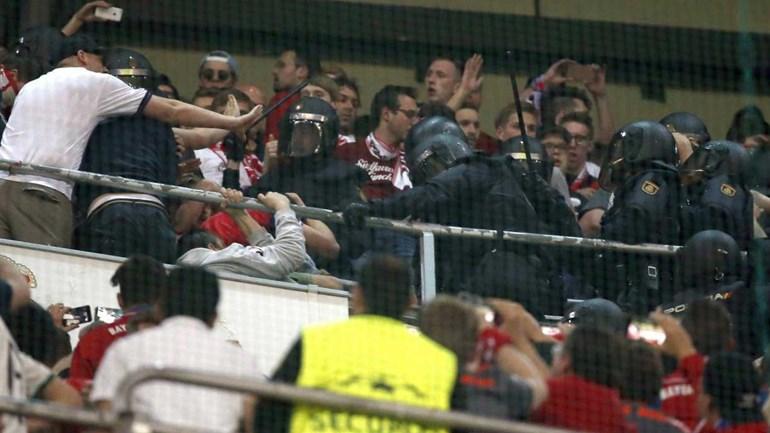 Bayern Munique apresenta queixa na UEFA