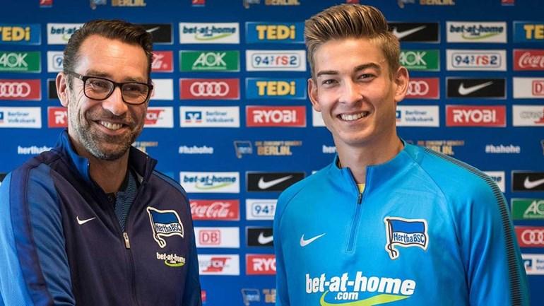 Filho de Klinsmann assina pelo Hertha de Berlim