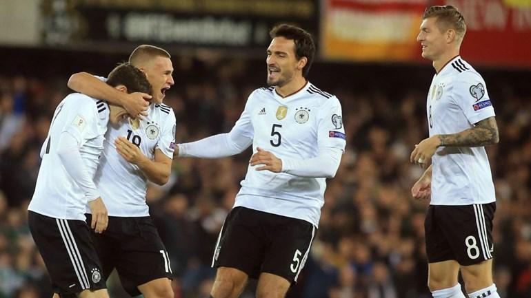 Grupo C: Alemanha carimba apuramento com vitória na Irlanda do Norte por 3-1