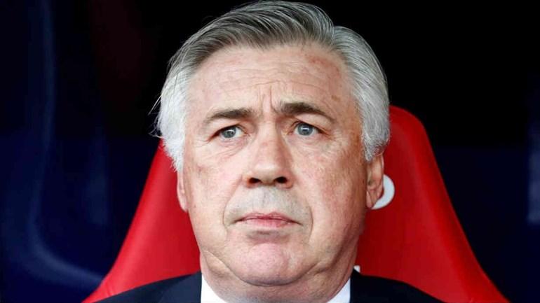 Ancelotti voltou a ser falado por causa de um tweet
