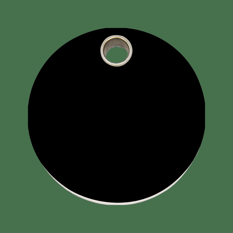 Red Dingo Plastic Tag Circle Black 04 Cl Bb 4clbs 4clbm 4clbl