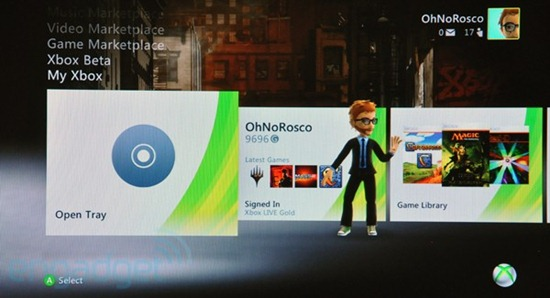 Xbox 360 Fall 2010 Dashboard Update New UI ESPN Netflix