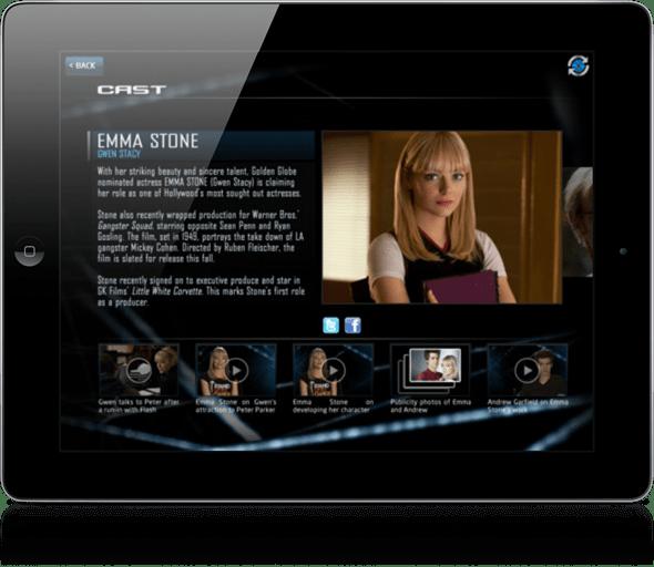 Spiderman second screen 3