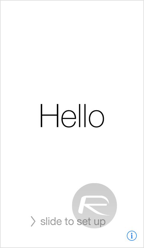 hello screen