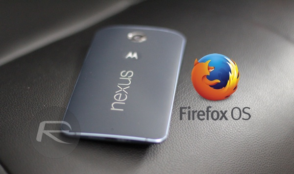 firefox OS for Android main