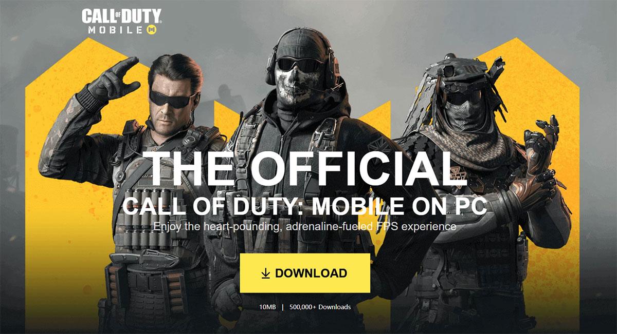 call of duty mobile pc emulator