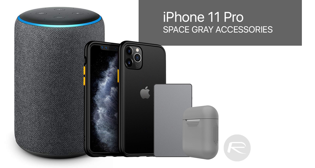 Space Gray Iphone 11 Pro Max Case Lightning Cable Wireless