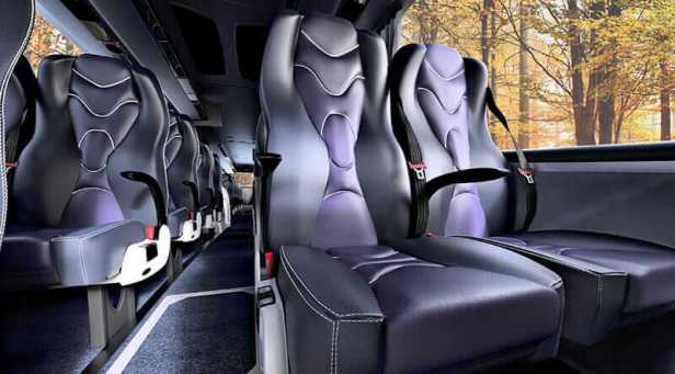 AirGo Njord ergonomic bus seat