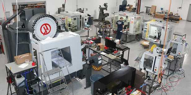 Saunders Machine Works shop floor