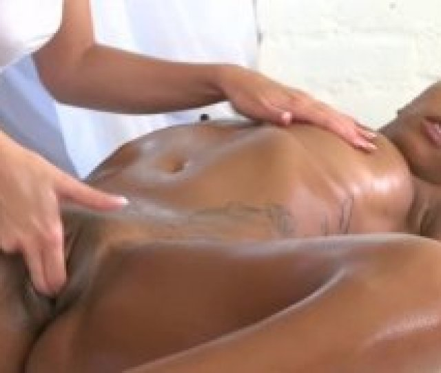 Booty Ebony Teen Babe Oiled Massaged And Fingered Till Orgasm
