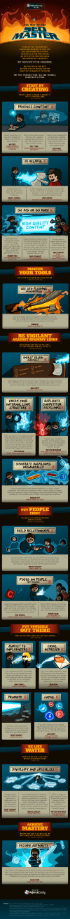 The Way Of The SEO Master [Infographic]