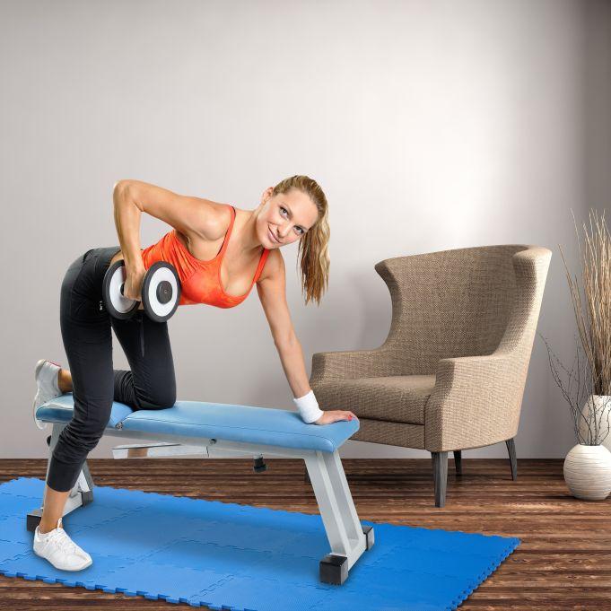 tapis pour sol fitness 24 pieces