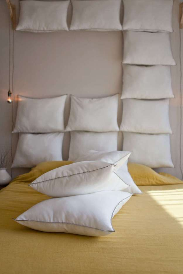 just add pillows: the diy headboard for $35 - remodelista
