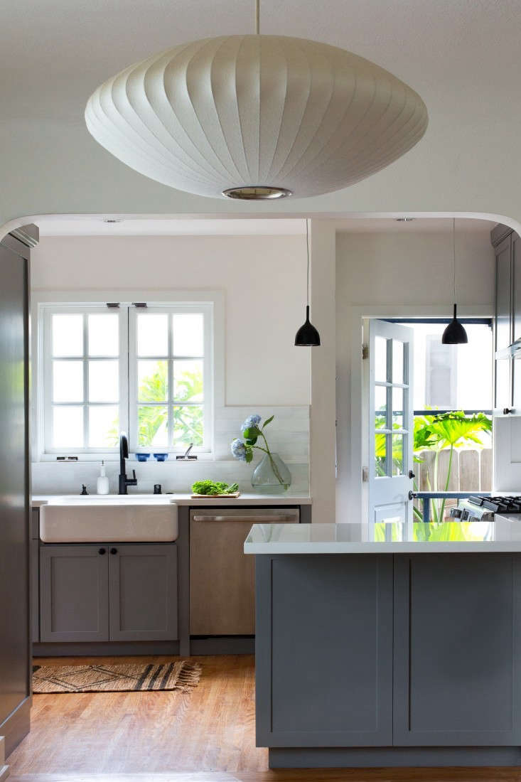 BeforeAfter A Cool And Confident Kitchen In LA By Project M Remodelista