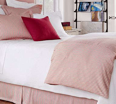 Classic Ticking Stripe Duvet Cover Amp Sham