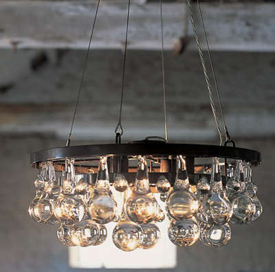 Arctic Pear Chandelier