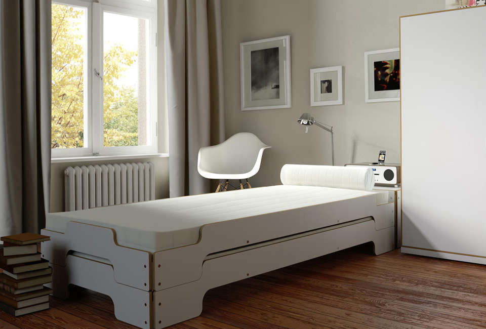 Stackable Guest Beds For Small Spaces Rolf Heide S Stapelliege Remodelista