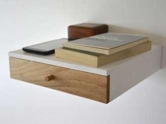 Custom-Made Floating Shelf / Floating Nightstand