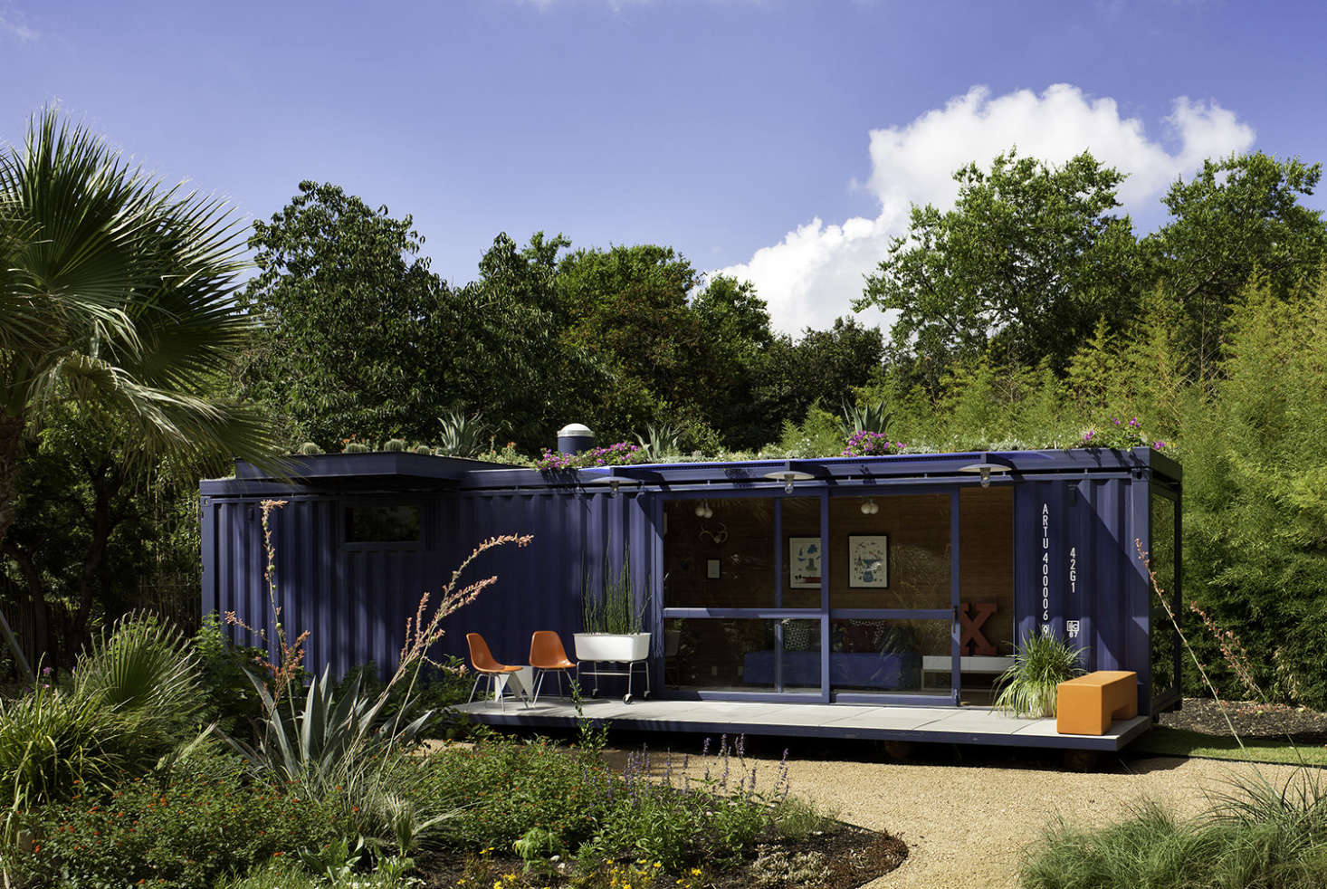 Best Kitchen Gallery: 10 Repurposed Shipping Containers Are Now Beautiful Houses of Shipping Container Guest House on rachelxblog.com