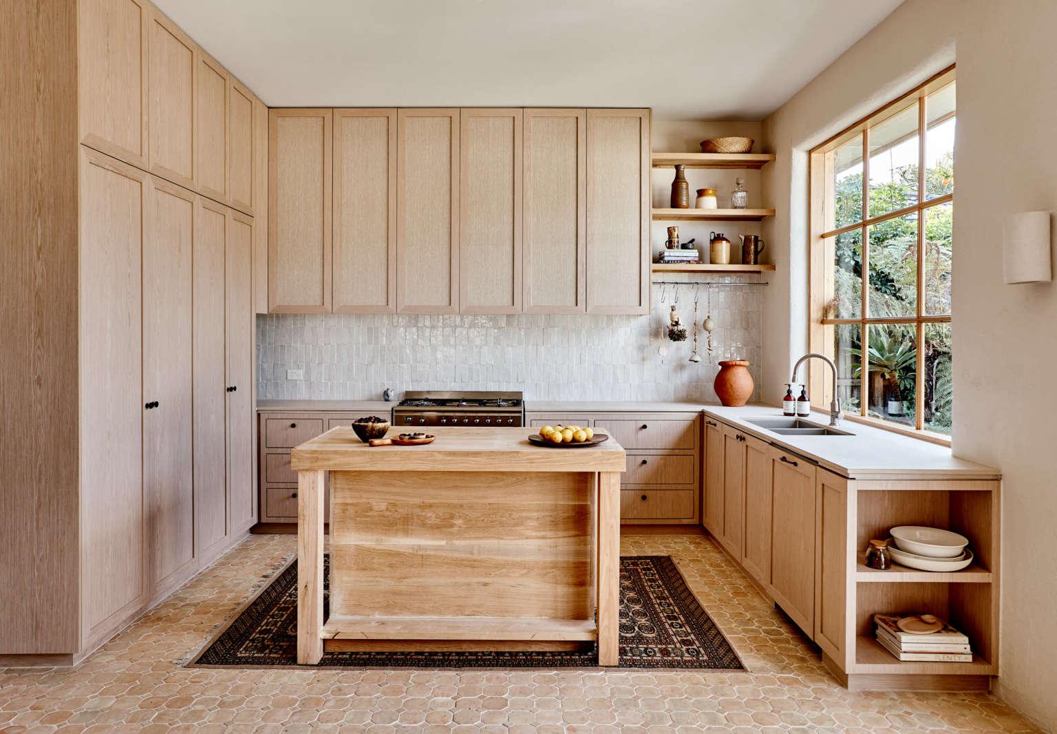 A Star Modern Rustic Kitchen In Melbourne Australian House