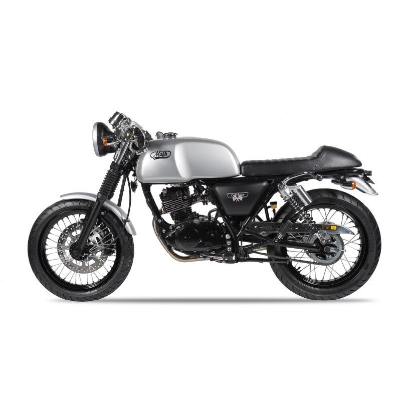 Mash Motorcycles Cafe Racer 125cc left side