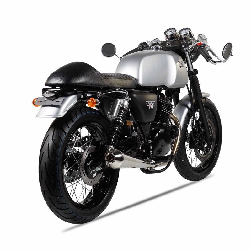 Mash Motorcycles Cafe Racer 125cc rear