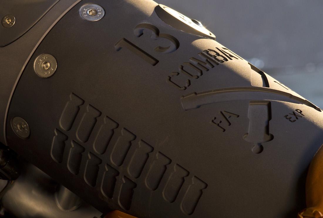 Confederate Motorcycles FA-13 Combat Bomber