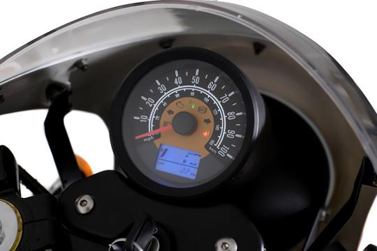 Retro 125cc - Sinnis Cafe Racer Instruments