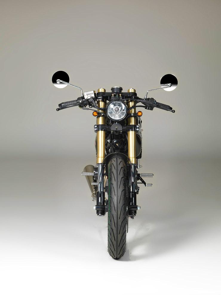Bullit Motorcycles Spirit 125 - Front