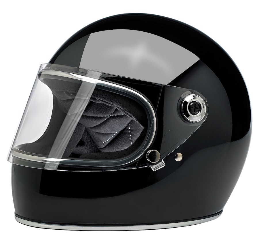 Biltwell Gringo S - ECE Approved Helmet Gloss Black
