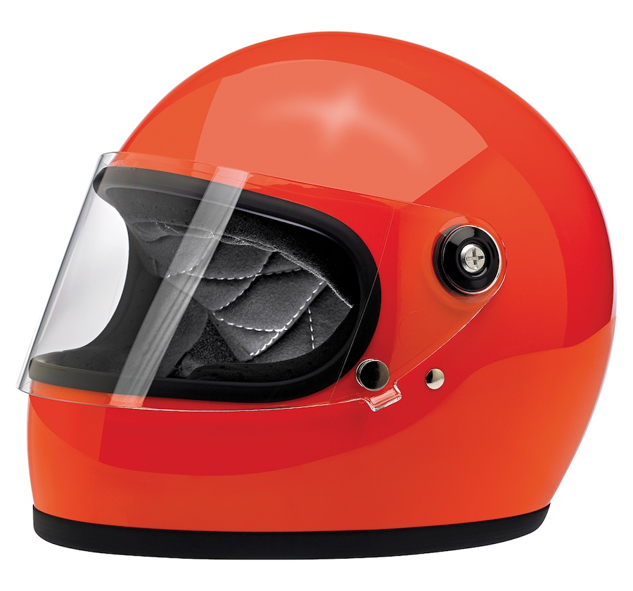 Biltwell Gringo S - ECE Approved Helmet Orange
