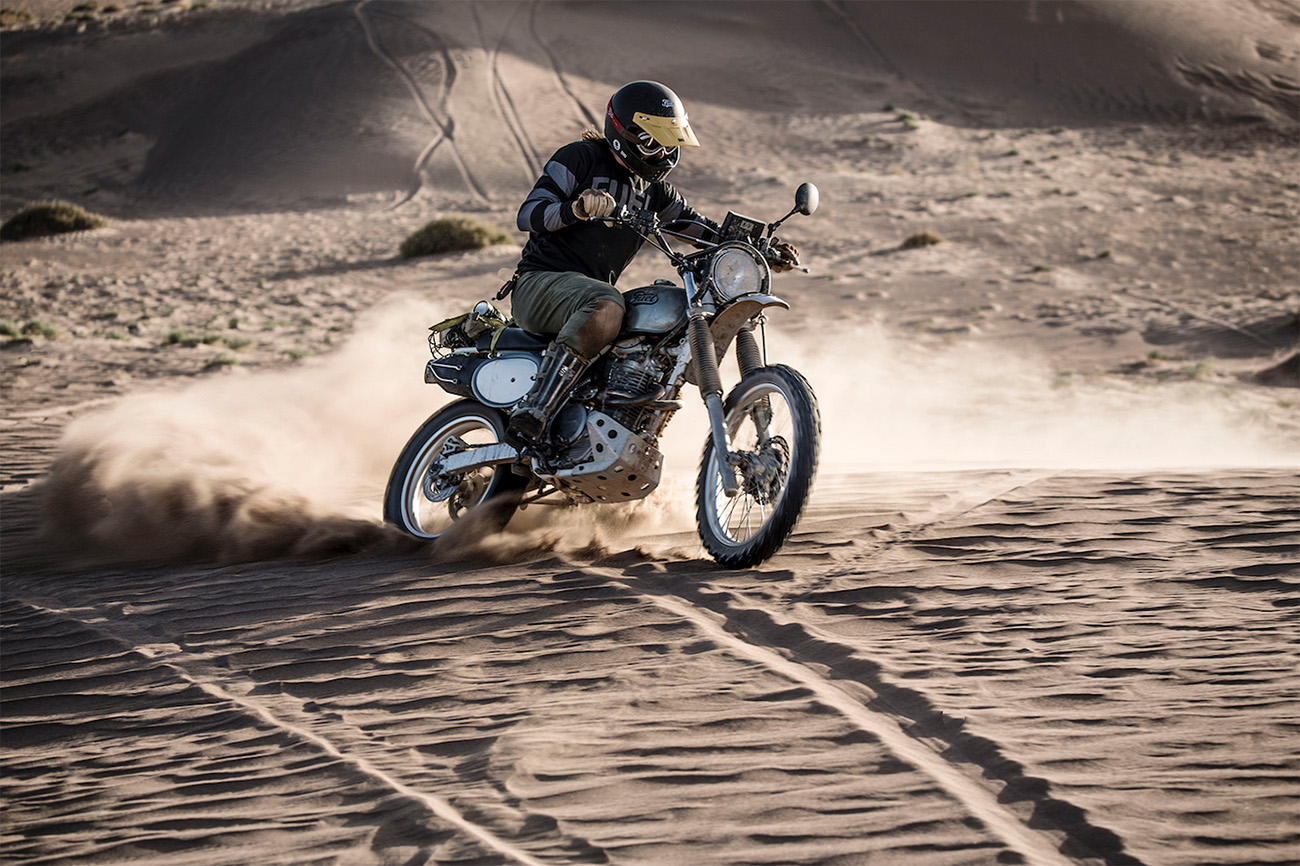 Fuel Bespoke Motorcycles Scram Africa 2019