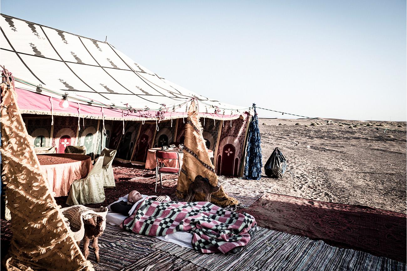 Moroccan Tents Scram Africa 2019