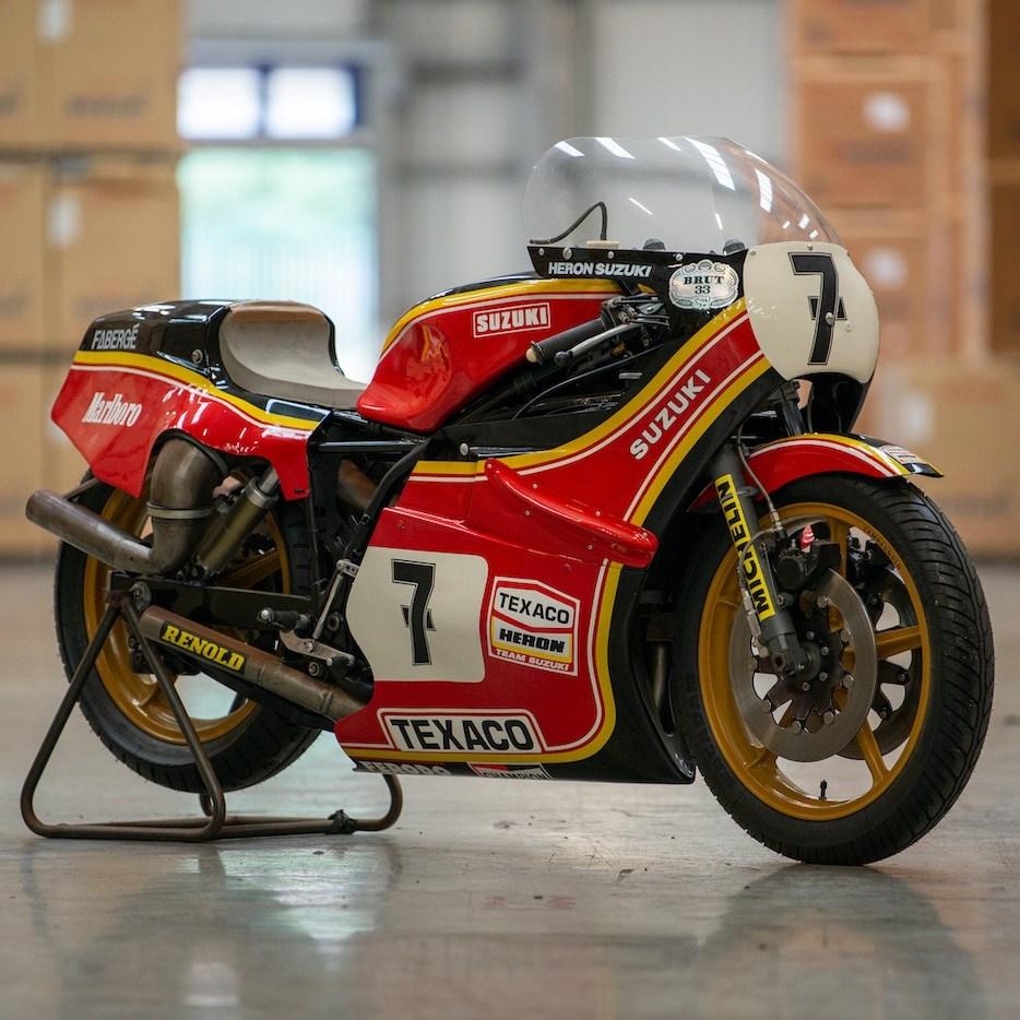 Barry Sheene 1978 Suzuki XR27 RG500