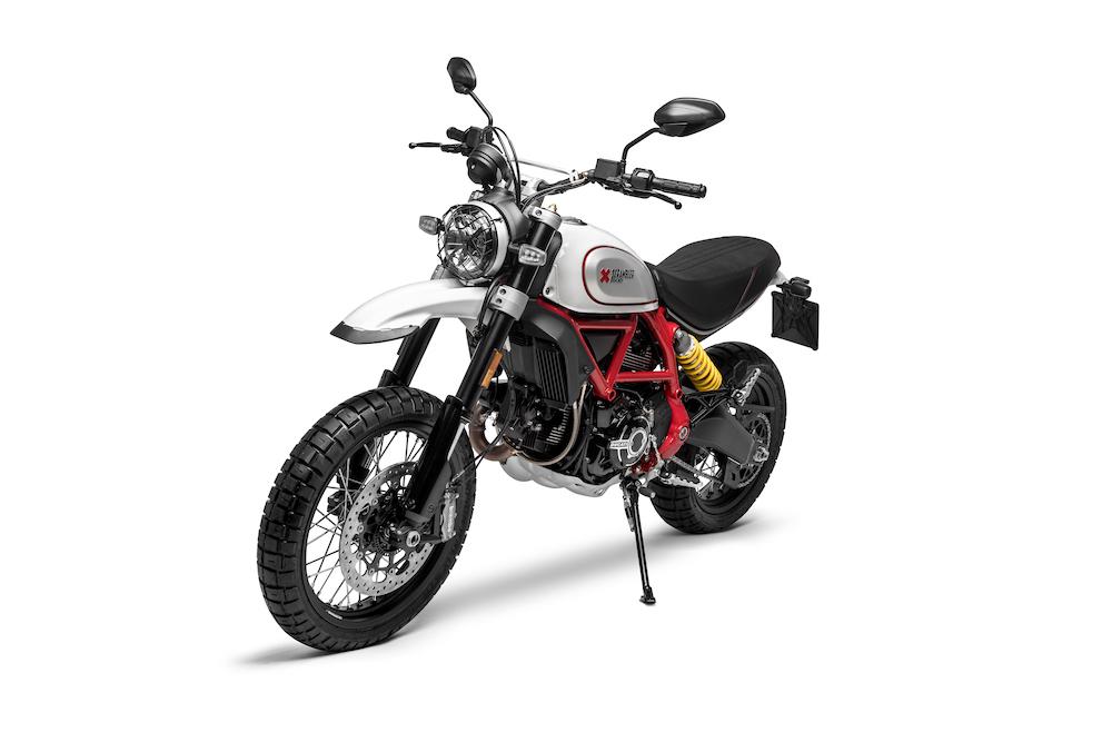 Ducati Scrambler Desert Sled right