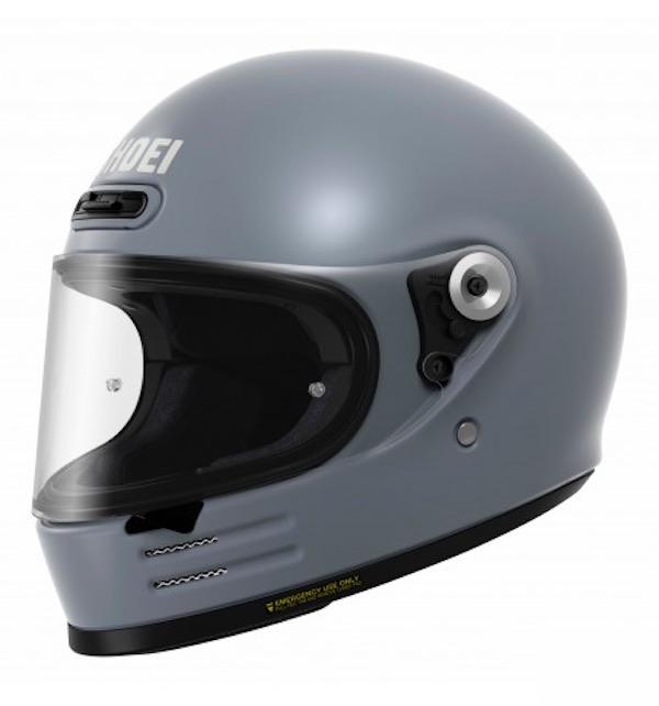 Shoei Glamster Retro Helmet - GLAMSTER [Basalt Grey]