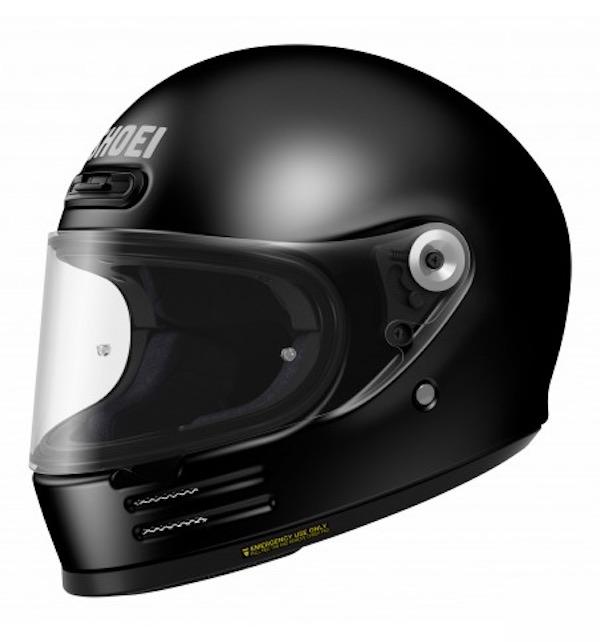 Shoei Glamster Retro Helmet GLAMSTER [BLACK]