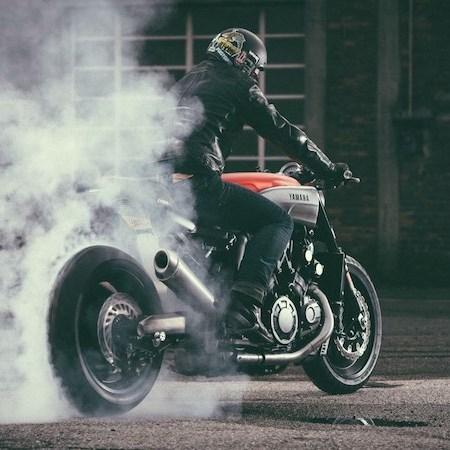 Yard Built JvB-Moto Yamaha VMAX Infrared