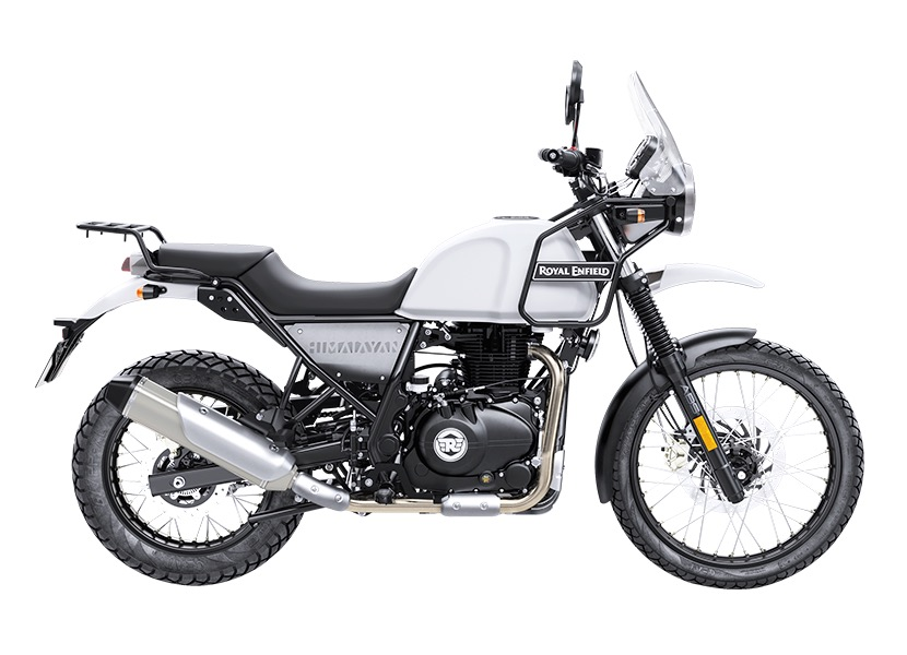 Royal Enfield Himalayan Snow left-side-view