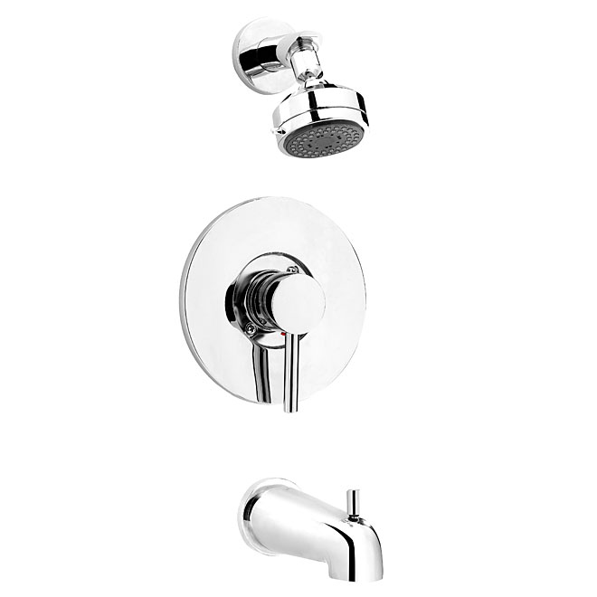 1 handle bath and shower faucet